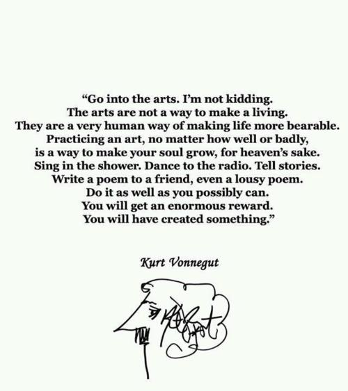 Writing Quote Wednesday - Kurt Vonnegut